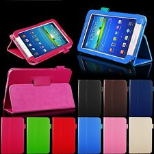 """PU Leather Case Cover Stand For Samsung Galaxy Tab 3 7"""" Tablet P3200 SM-T210"""