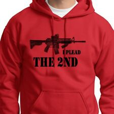 I PLEAD THE 2ND Amendment T-shirt Pro Gun AR15 Rifle Hoodie Sweatshirt