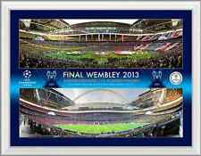 Champions League Final 2013 Bayern v Dortmund UEFA Official Photograph Range