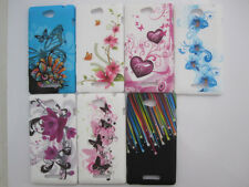Various Flower butterfly printing Soft Cover Case For Sony Xperia C S39h C2305