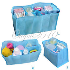 New Baby Diaper Nappy Changing Storage Bag 7 Liner Cell Divider 3 Colors 3 Sizes