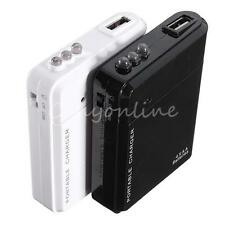 4X AA Battery Portable USB Power Charger Power Cell Phone Bank Case For iphone