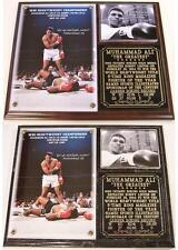 Muhammad Ali The Greatest Boxing Hall of Fame Photo Plaque Thrilla in Manila
