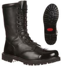 """NEW ROCKY 10"""" Duty Work Boots WATER Res ZIPPER Leather PARABOOTS FQ0002090"""