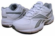 Mens Reebok® Infrastructure Trainer White/Grey Crosstraining Shoes Med Width Sz