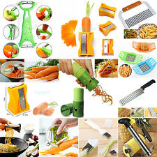 Vegetable Fruit Slicer Cutter Spiral Shred Chopper Peeler Twister Kitchen Tool