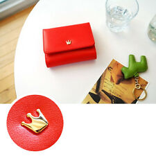Fashion New Ladly Crown Wallet Handmade Card Pocket Women Coin Wallet Purse