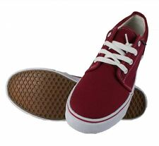 Dek Mens Canvas Lace Up Deck Boat Loafers Yachting Shoes Plimsoles UK 3-12 Red