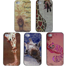 For iphone4 4S 5 5S Funny Hipster Cat Giraffe Lion King Quotes Animals Hard Case