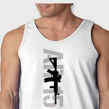 AR15 Assault Weapon Right To Bear Arms AK47 Rifles Men's American Apparel Tank