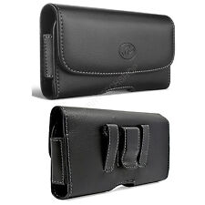 Leather Belt Clip Case Holster for Cell Phones COMPATIBLE WITH Otterbox Defender