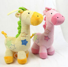 Carter's Brand New  Super soft plush Baby Toys Doll Pullerstring Giraffe Cotton