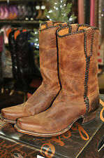 Lucchese M2601.74 Peanut Brittle Mad Dog Laced Boot