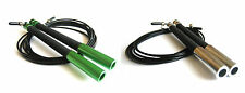 Cable Steel Jump Skipping Speed Jumping Rope For CrossFit MMA Adjustable 3M