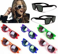 Womens Mens Summer 80s Retro Wayfarer Polarized UV Protection Sunglasses