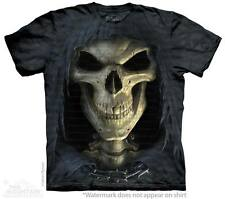 New BIG FACE DEATH GRIM REAPER T Shirt