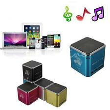 Mini Portable USB Music Angle Player Stereo Speaker Micro SD TF For PC MP3 iPod