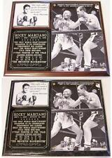 Rocky Marciano The Brockton Blockbuster Boxing Hall of Fame Photo Plaque