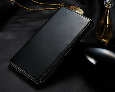 Smart Flip Folio PU Leather Wallet Cover Skin Case for SONY Xperia Z Ultra XL39H
