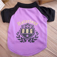NEW&HOT The OLIVE branch Cute Pet Clothes Clothing T-shirt FOR Dog Cat Purple