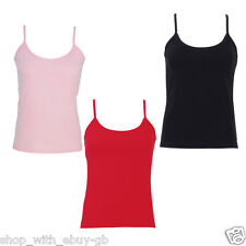 Wholesale 10 Cotton Women Vest Tops /  Shirts / Vests - Various Sizes Colours