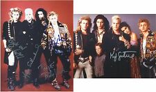 "The Lost Boys Cast by 4 inc. Kiefer Sutherland 10 x 8"" Signed PP Autograph"