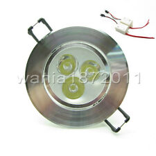 3W Warm White / Cool White Ceiling Recessed lights Downlight + 2 Driveres