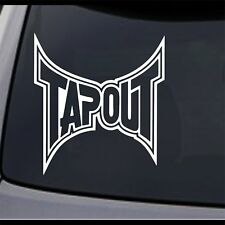 TAPOUT XT MMA Vinyl Decal Sticker