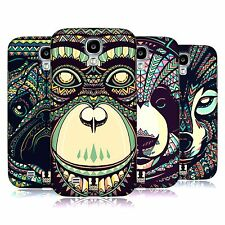 HEAD CASE DESIGNS AZTEC ANIMAL FACES 3 CASE COVER FOR SAMSUNG GALAXY S4 I9500