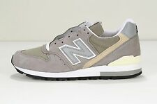 "NEW MEN'S ""MADE IN USA"" NEW BALANCE M996 GREY MEDIUM WIDTH (D)"