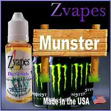 e liquid flavor Munster vape juice vaporizer 20ml or 30ml - for vapor pen