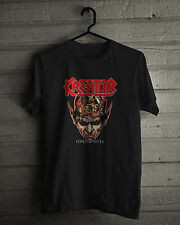 Kreator T-Shirt, German thrash metal band Destruction and Sodom Black/White Tee