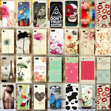 Cute Colorful Paint Pattern Hard  Back Phone Case Cover for Apple Iphone 4S 4 5S