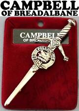 CAMPBELL OF BREADALBANE CLAN CREST KILT PIN 130 CLAN NAME AVAILABLE
