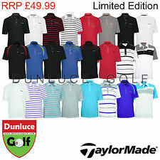 TAYLORMADE BY ASHWORTH MENS LIMITED EDITION POLO SHIRTS -NEW GOLF TOUR 2013 2014