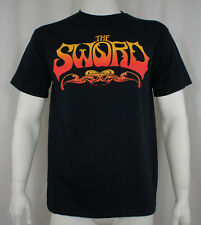Authentic THE SWORD Band Fire Red Logo  T-SHIRT S M L XL 2XL NEW