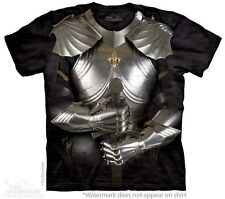 THE MOUNTAIN BODY ARMOR MEDIEVAL FANTASY SWORD IRON YOUTH KIDS TEE T SHIRT S-XL