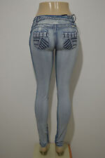 Stretch Push-Up Jeans (Levanta Cola) jeans in LIGHT BLUE 096