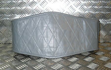 Genuine German Army Grey Leather Motorcycle Back Support Belt All Sizes New