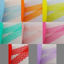 Wholesale 10 yards Pretty embroidery lace of choice (4.5cm) wide  8 color choice