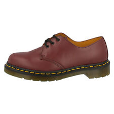 DR DOC MARTENS 1461 59 LEATHER SHOES 3-HOLE CHERRY RED 10085600