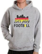 Spielen Football Club Kapuzenpullover Hoodie WM 2014 Deutschland Team Flag Top