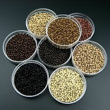 Nano Cooper Micro Rings Beads For Use With Nano Tip Pre Bonded Hair Extension