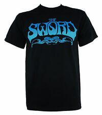Authentic THE SWORD Band Ice Blue Logo  T-SHIRT S M L XL 2XL NEW