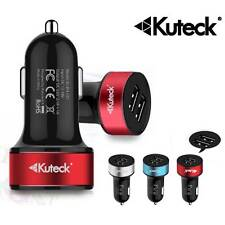 Kuteck 3.1 Amp Dual USB 2-Port Car Charger For HTC One M7 M8 V X S Max Mini M4