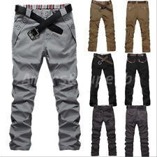 NEW Fashion Men's Skinny Designed Jeans Slim Fit Trousers Straight Casual Pants