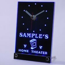 tncph-tm Home Theater Personalized Bar Beer Decor Neon Led Table Clock