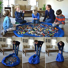 New Large Mom's Storage Bag Playmat Toys Messes Cleanup Ideal For Lego, Blocks