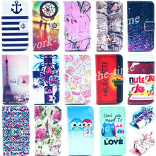 New Design Flip Wallet Card Holder PU Leather Stand Case Cover For iPhone 4 4S