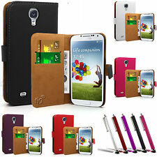 SLIM REAL GENUINE LEATHER WALLET CASE COVER POUCH FOR NEW MOBILE PHONES